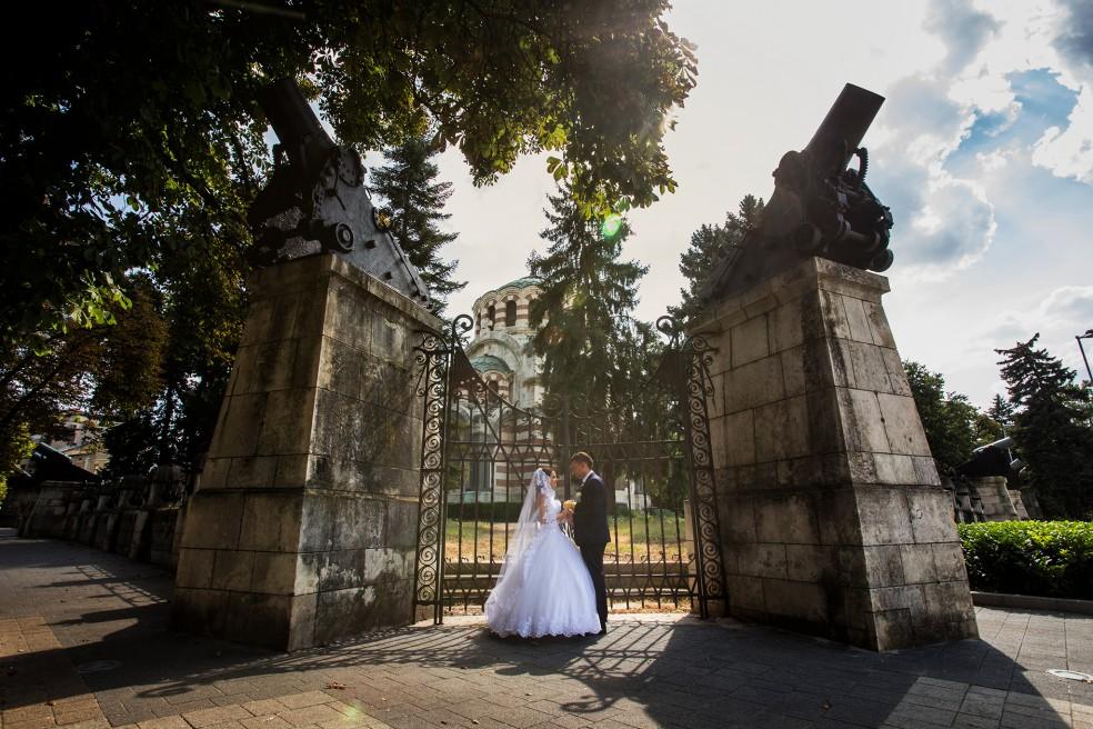 Сватбен ден Марияна и Александър